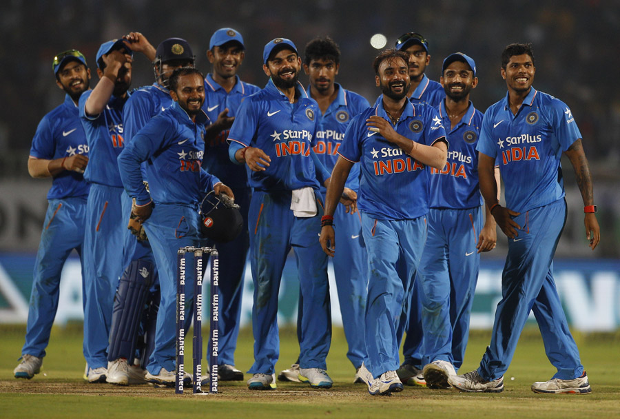 टीम इंडिया 3-2 सीरिज जीती