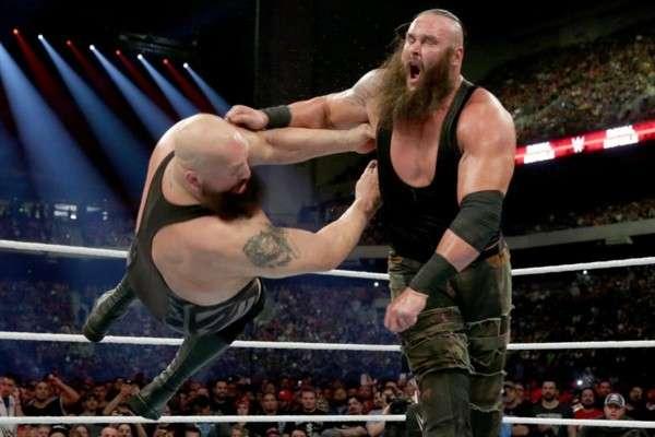 Big Show and Braun