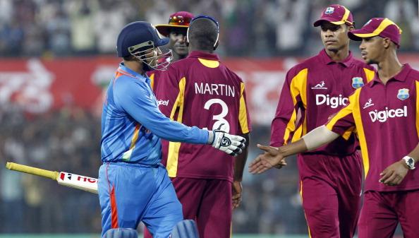 India v West Indies - 4th ODI