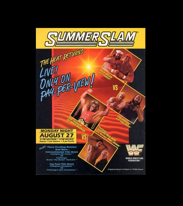 Summerslam_Posters_1990-1