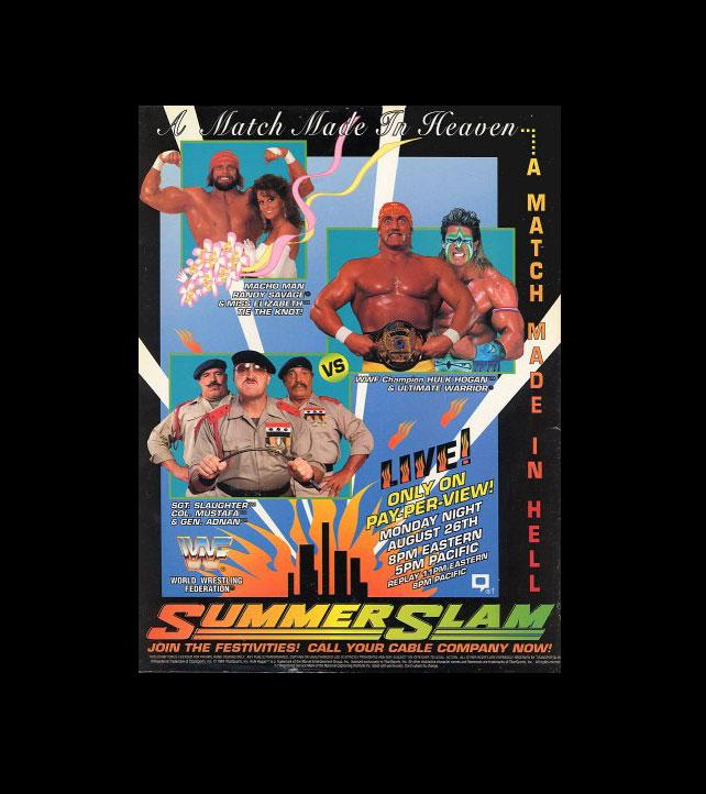 Summerslam_Posters_1991-1
