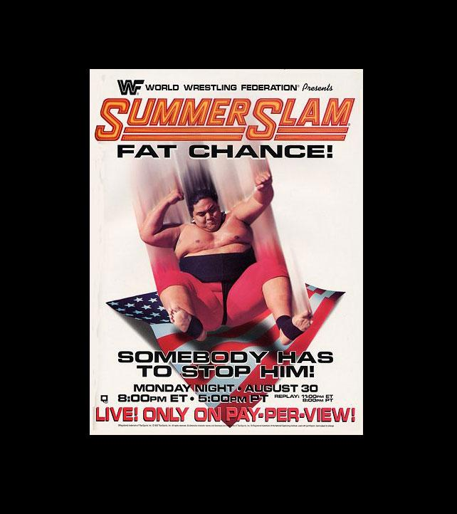 Summerslam_Posters_1993-1
