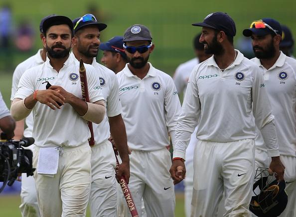 Sri Lanka v India - Cricket, 3rd Test - Day 3