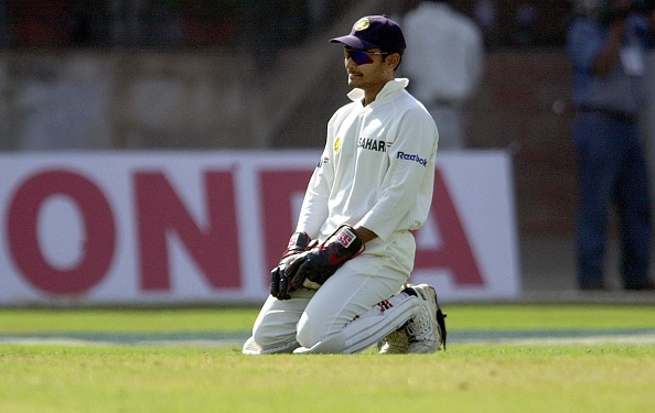 Indian wicketkeeper Deep Dasgupta