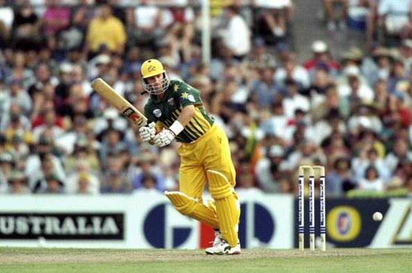 Carlton United Australia v Sri Lanka Mark Waugh