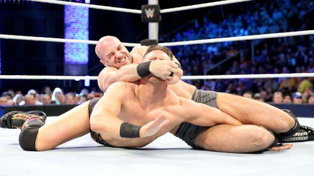 cesaro vs the miz