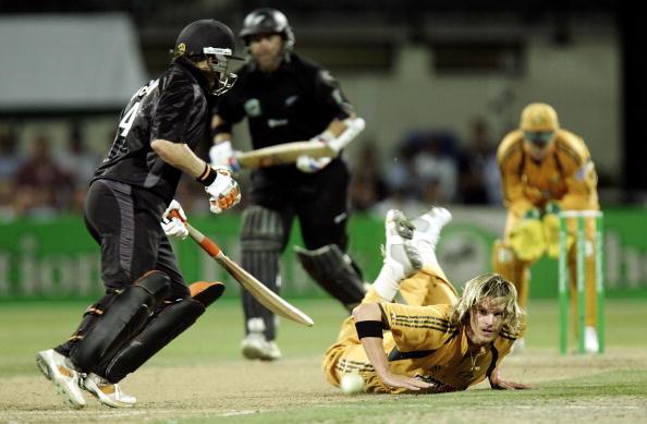 Chappell-Hadlee Trophy - New Zealand v Australia: 3rd ODI