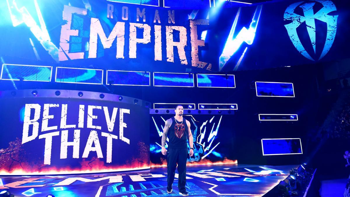Greatest Royal Rumble में ब्रॉक लैसनर के खिलाफ होने वाले मैच से पहले रोमन रेंस ने ने दी चेतावनी 1